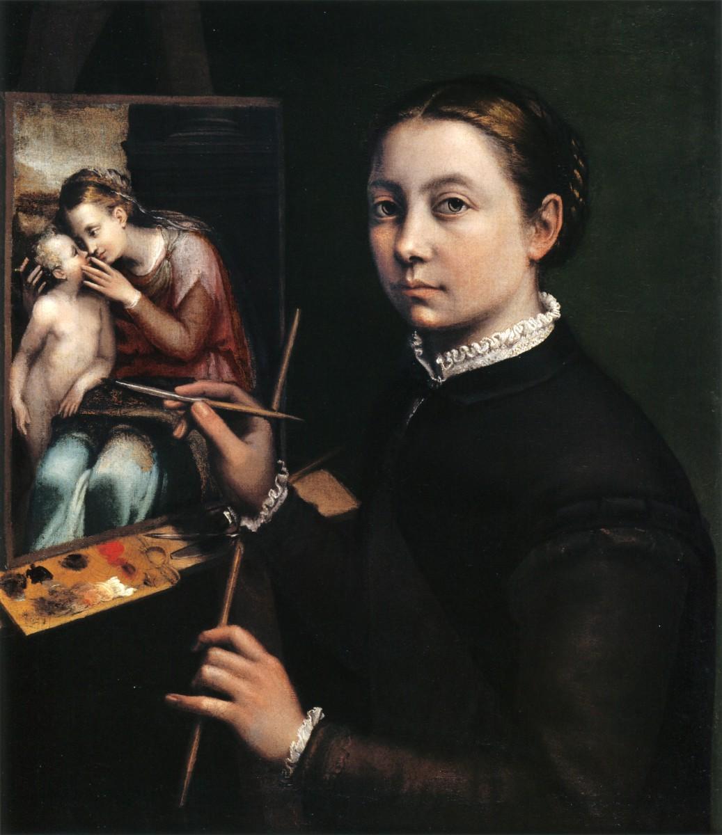 Dama z pędzlem. Sofonisba Anguissola, pierwsza wielka europejska malarka