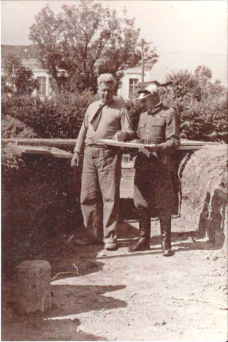 Unikatowe zdjęcia z budowy willi Kotowicza w Rzeszowie