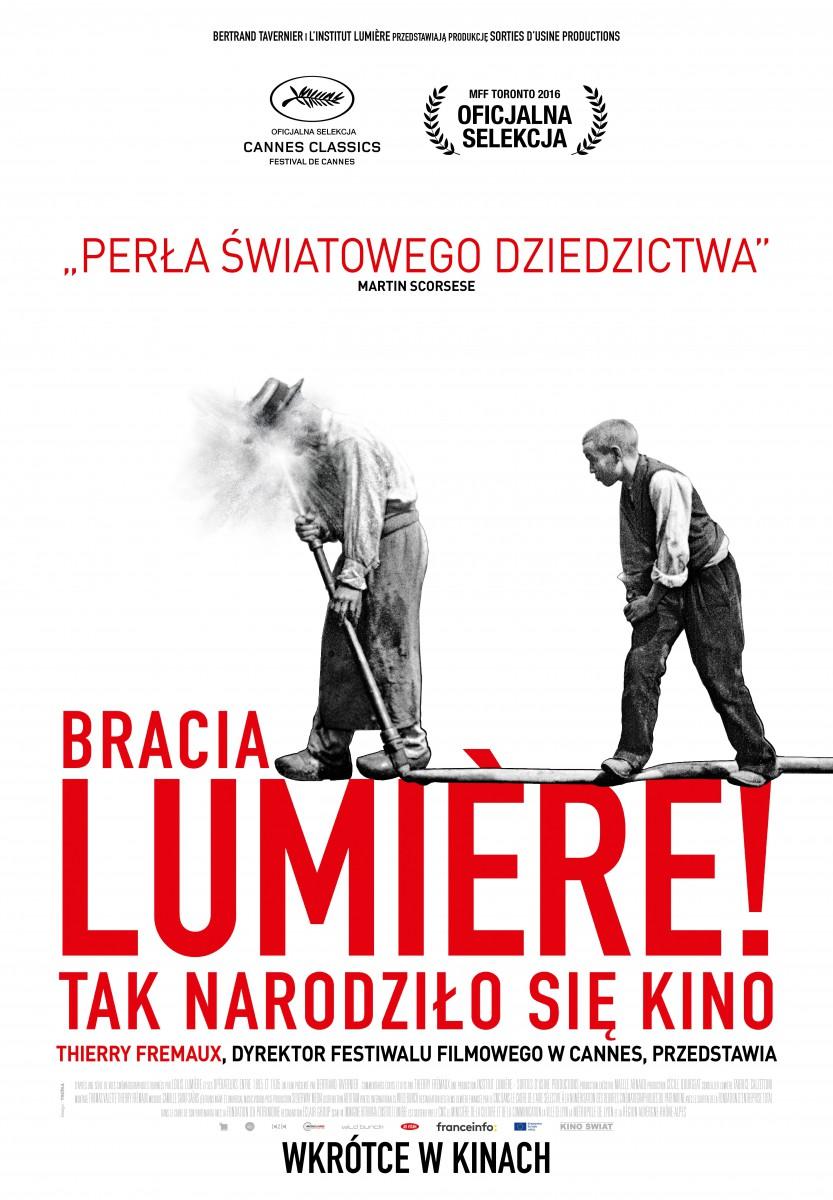 """We wrześniu narodzi się sztuka filmowa. """"Bracia Lumière"""" w kinach"""